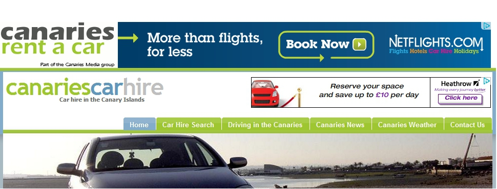 Canaries Rent a Car - Car Hire for the Canary Islands